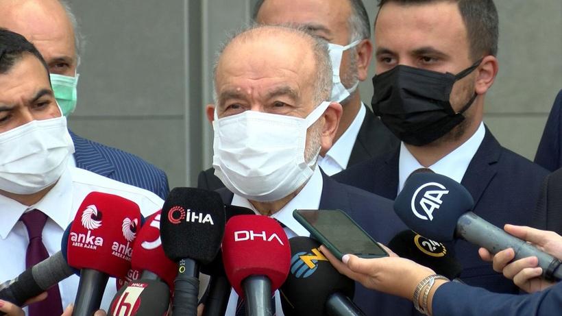Saadet Partisi lideri Temel Karamollaoğlu'ndan Oğuzhan Asiltürk'e ziyaret sonrası açıklama