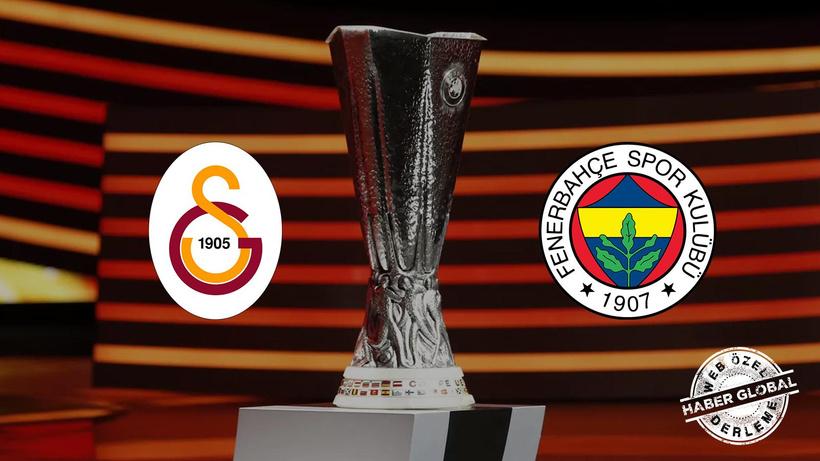 Fenerbahçe ve Galatasaray, UEFA Avrupa Ligi sahnesinde! İşte kritik maçların şifreleri...