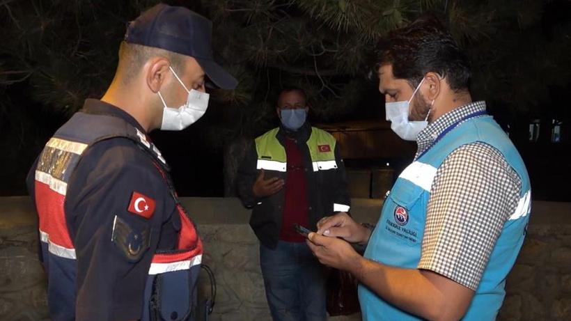 Kırıkkale'de karantinayı delerek başkasına ait HES koduyla seyahat etti