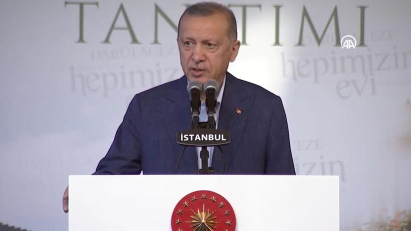 Erdoğan'dan Darülaceze'deki açılışta açıklamalar