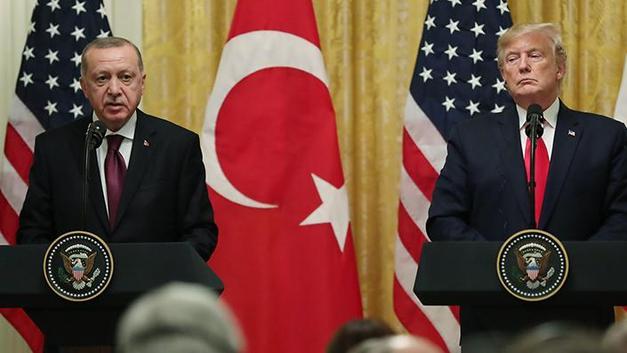 Erdoğan, Trump'la Libya ve Suriye'yi görüştü