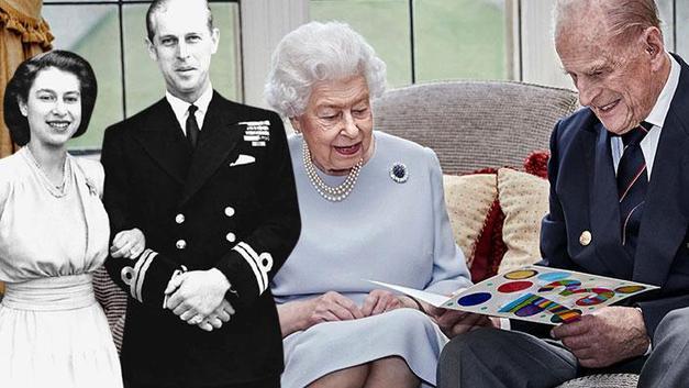 Kraliçe Elizabeth ve eşi Prens Philip 73. evlilik yıl dönümlerini kutluyor