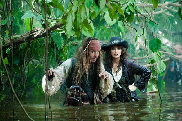 10. Johnny Depp ve Jack Sparrow