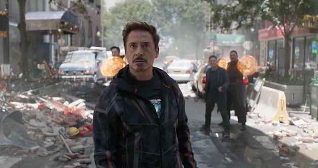 4. Robert Downey Jr. ve Avengers: Infinity War
