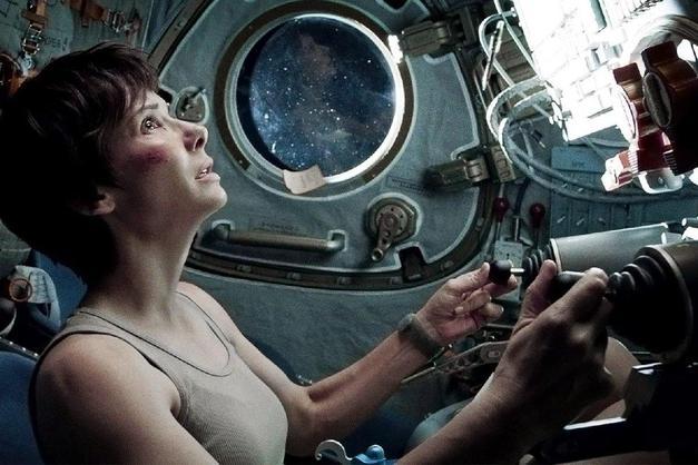 5. Sandra Bullock ve Gravity