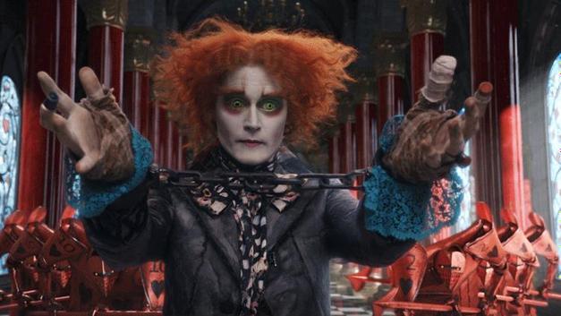 6. Johnny Depp ve Alice in Wonderland