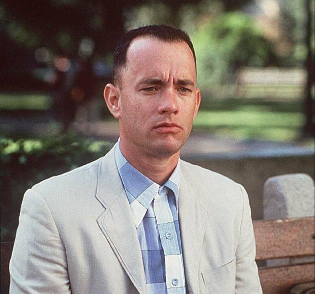9. Tom Hanks ve Forrest Gump