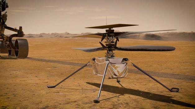 MARS'A GÖNDERİLEN KEŞİF ARACI PERSEVERANCE VE MİNİ HELİKOPTER INGENUITY