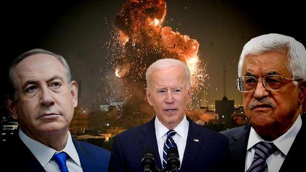 Son Dakika! ABD Başkanı Biden, Netanyahu ve Mahmut Abbas ile görüştü