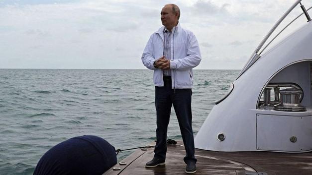 Putin'in yatını bir Türk şirketi yaptı