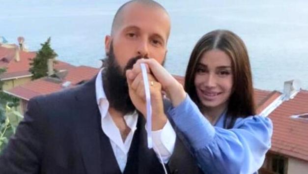 Orhan Gencebay'ın oğlu Gökhan Gencebay Seda Han ile nişanlandı
