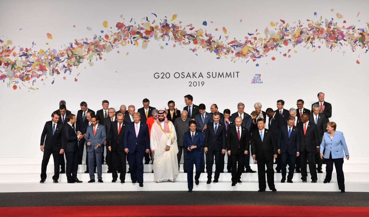G-20 zirvesinden dikkat çeken kareler - Resim: 1