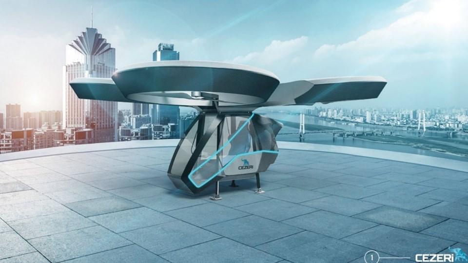Yerli 'uçan otomobil'den ilk kareler - Resim: 1