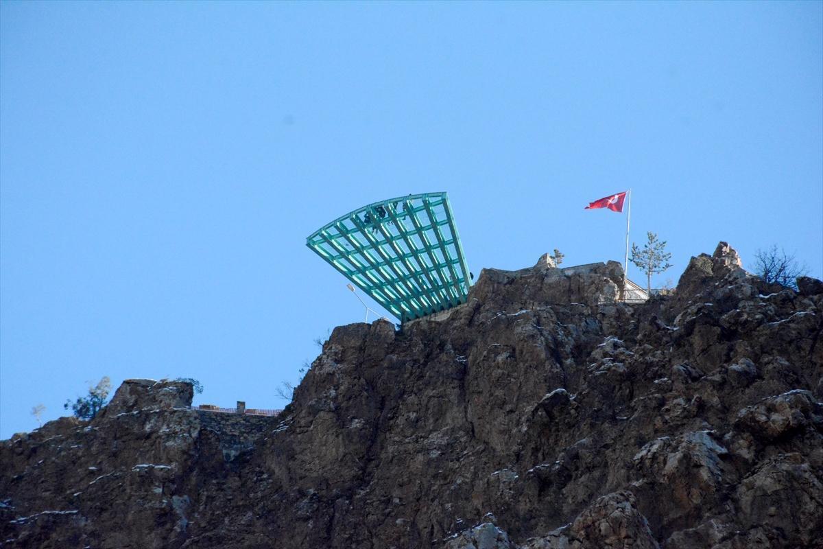 240 metrelik Torul cam seyir terası ziyaretçi akınına uğradı - Resim: 4