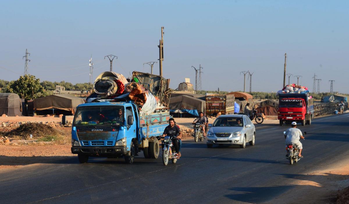 İdlib'den kaçış başladı - Resim: 1
