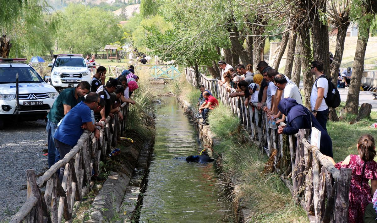 AFAD ekipleri su kanalında altın bilezik aradı - Resim: 1