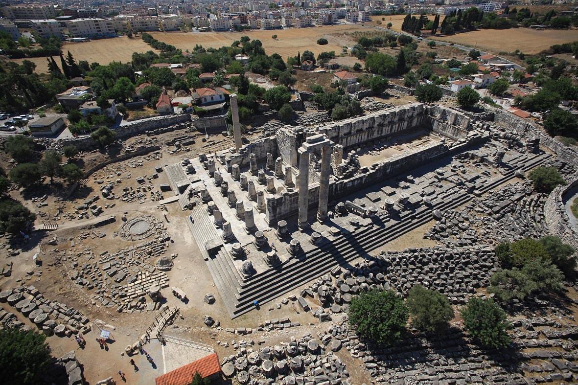 Apollon Tapınağı'nın yeni bağlantısı bulundu - Resim: 1