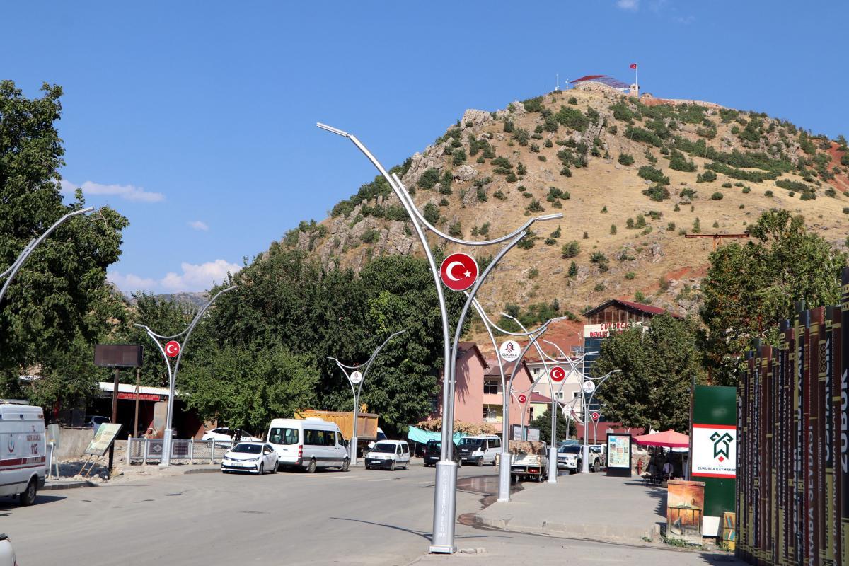 Sınırın sıfır noktasındaki üs bölgesi, sosyal tesise dönüştürülüyor - Resim: 3
