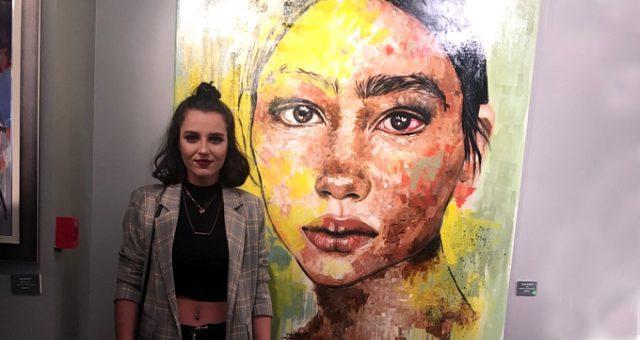 Genç ressam Sinem Demirci'nin renklerin dünyasındaki yolculuğu - Resim: 1