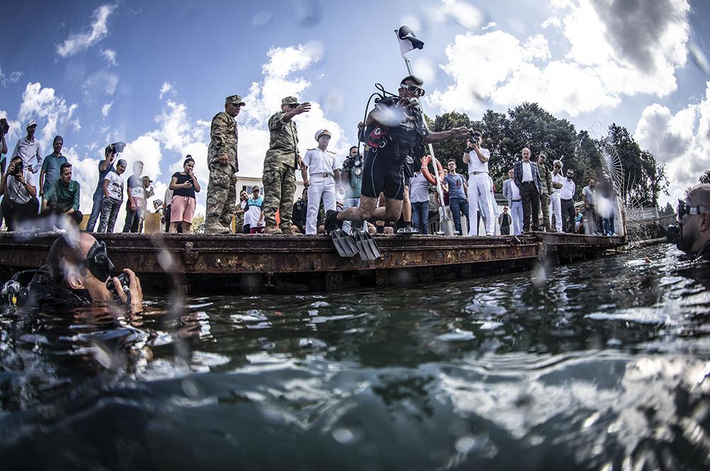 Engelliler Zafer Bayramı'nı su altında kutladı - Resim: 1