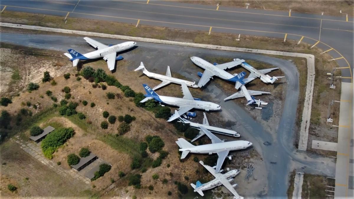 Atatürk Havalimanı uçak mezarlığına döndü! - Resim: 1