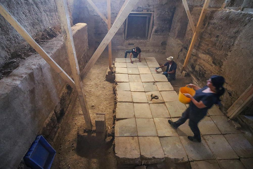 Ayanis Kalesi'ndeki 'gizemli oda'nın sırrı araştırılıyor - Resim: 1