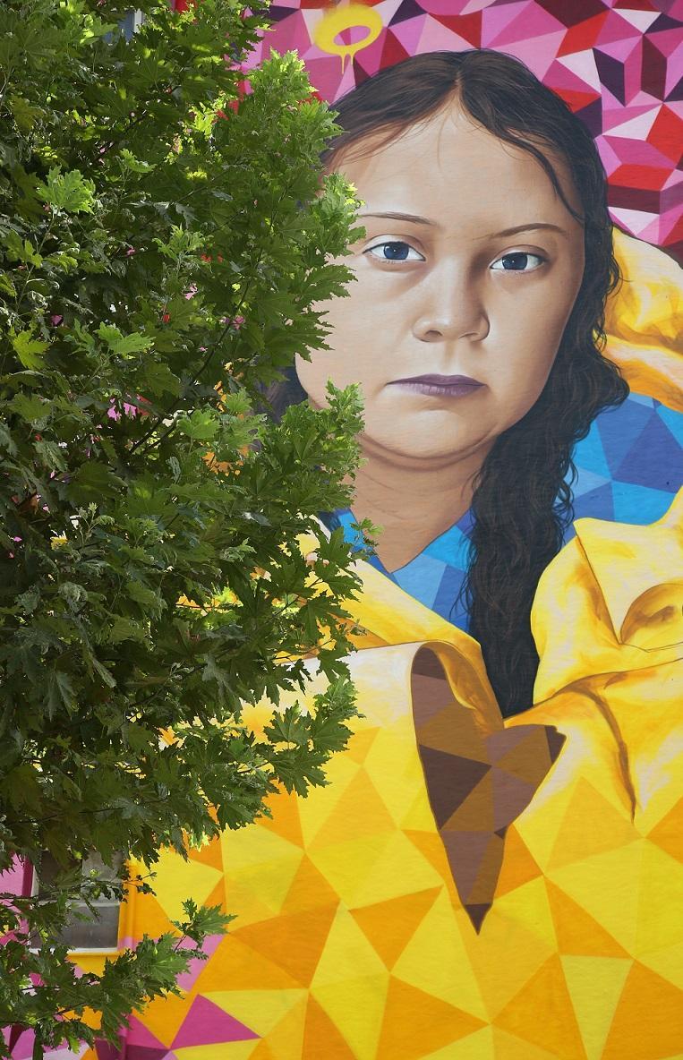 Greta Thunberg, New York'tan sonra Kadıköy'de! - Resim: 1