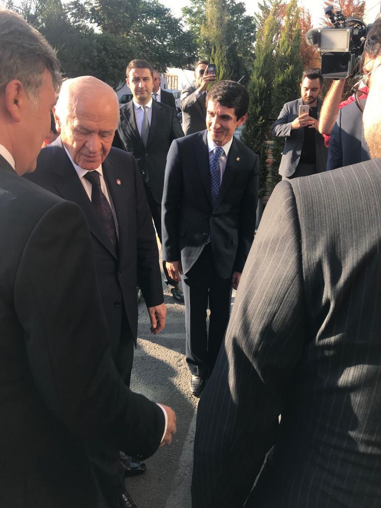 MHP Genel Başkanı Devlet Bahçeli, Haber Global'i ziyaret etti - Resim: 1