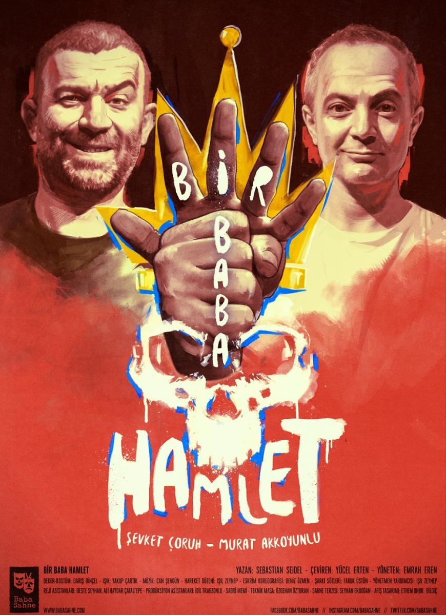 """Baba Sahne, yeni sezona ödüllü oyunu """"Bir Baba Hamlet"""" ile başlıyor - Resim: 1"""