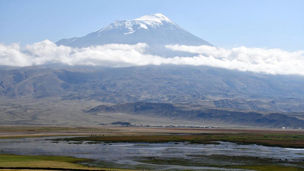 Eylül'de kar yağdı, Ağrı Dağı'nın zirvesi beyaza büründü - Resim: 1