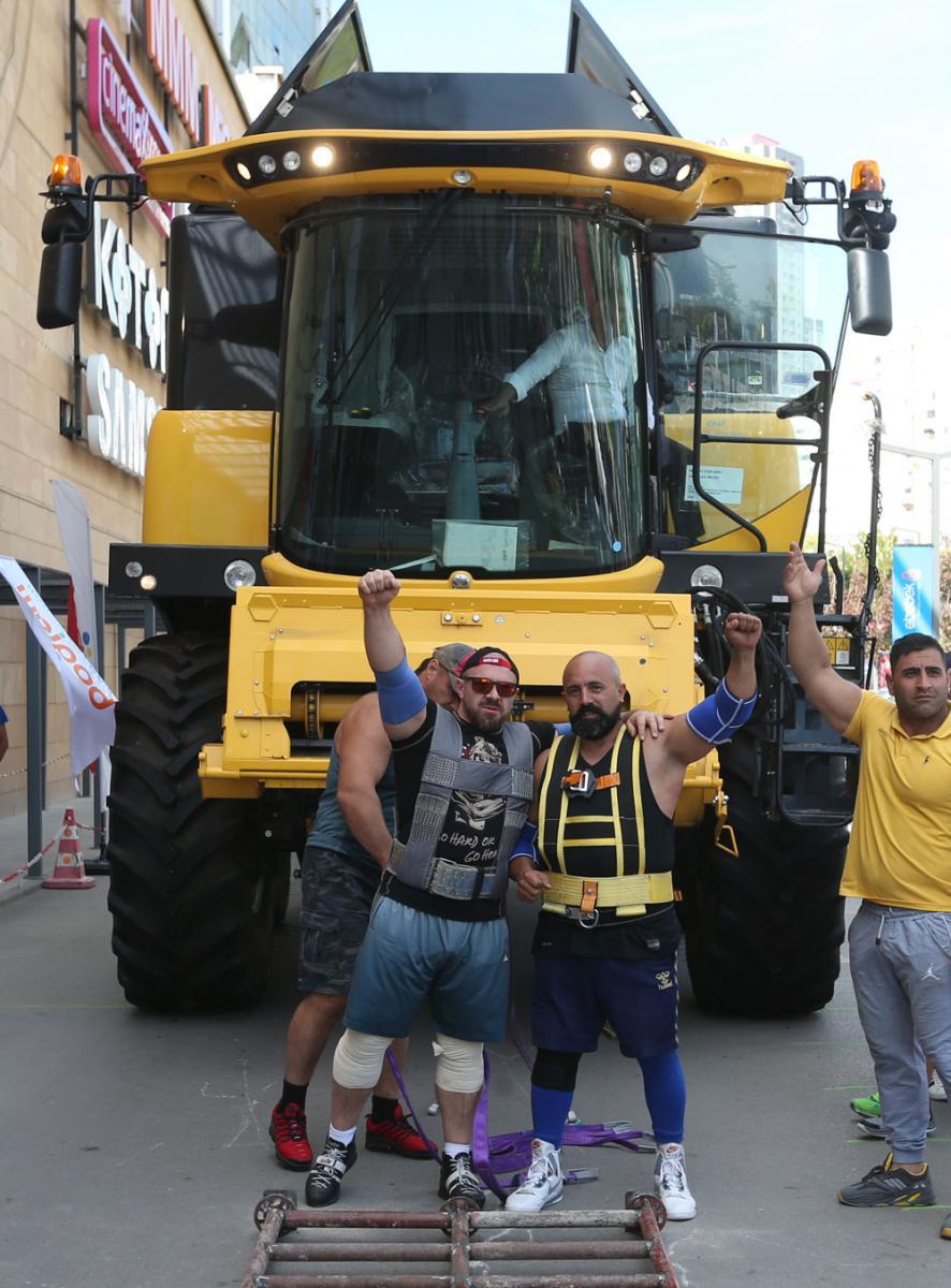 Dünyanın en güçlülerinden Ankara'da rekor denemesi... 26 bin ton çektiler - Resim: 1