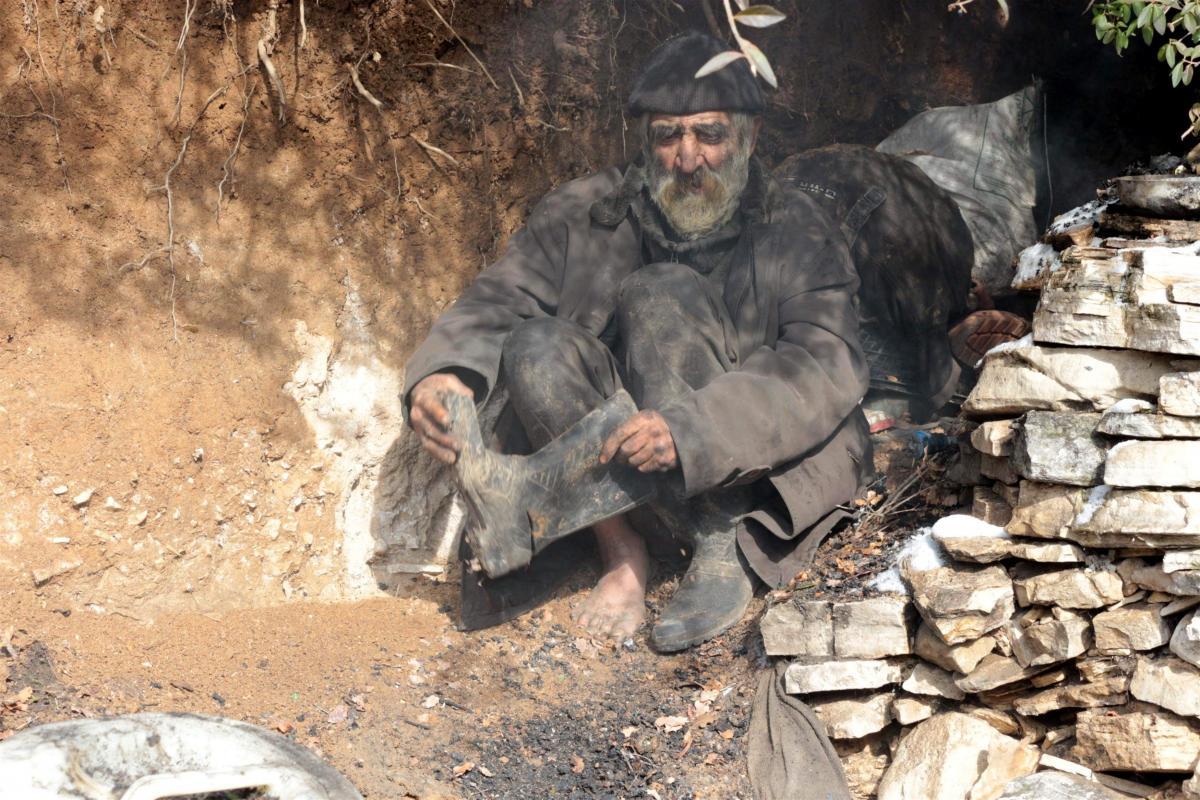 İskender Gündüz'ün 40 yıllık mağara hayatı bitti - Resim: 1