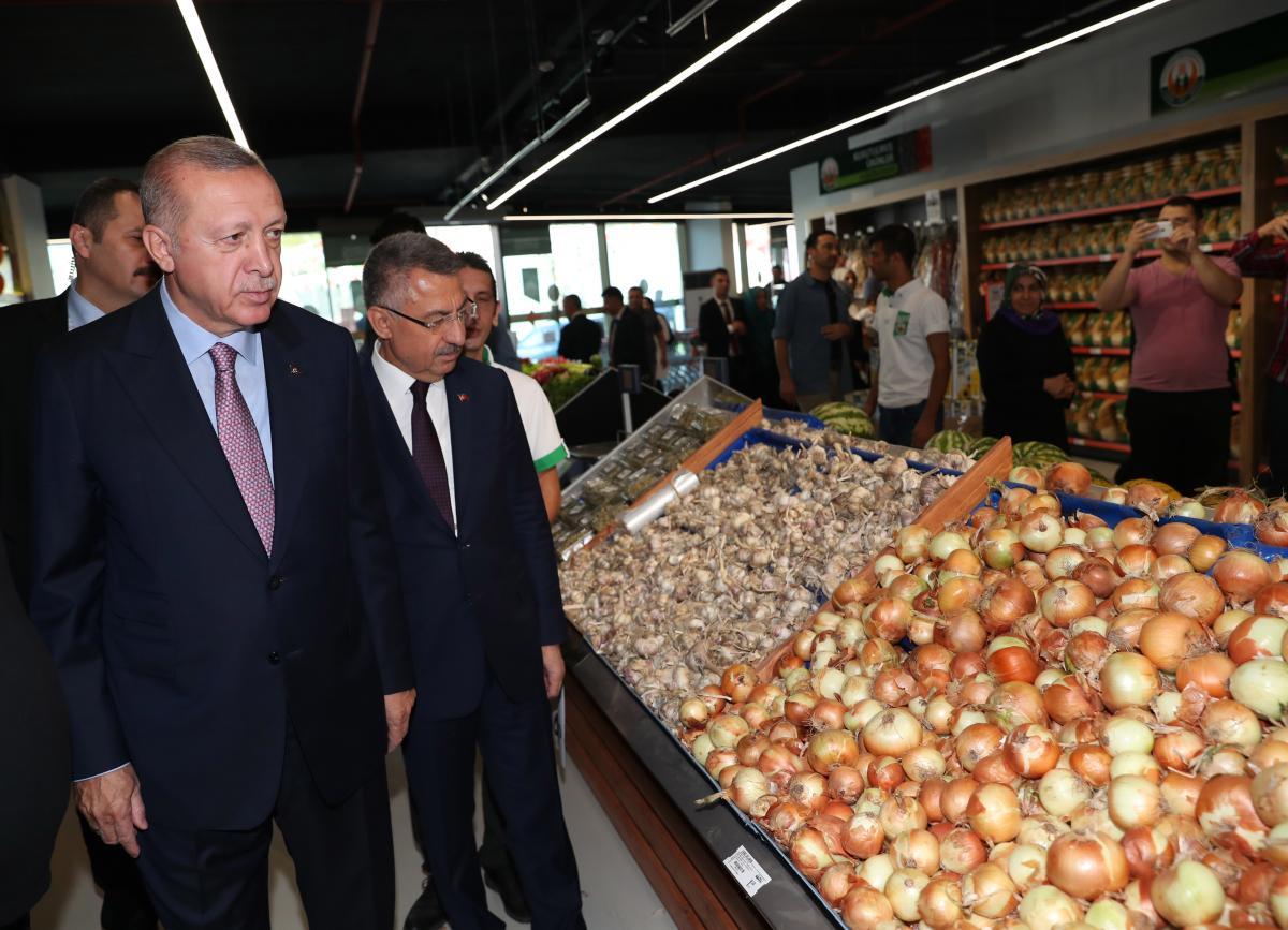 Cumhurbaşkanı Erdoğan alışveriş yaptı - Resim: 1