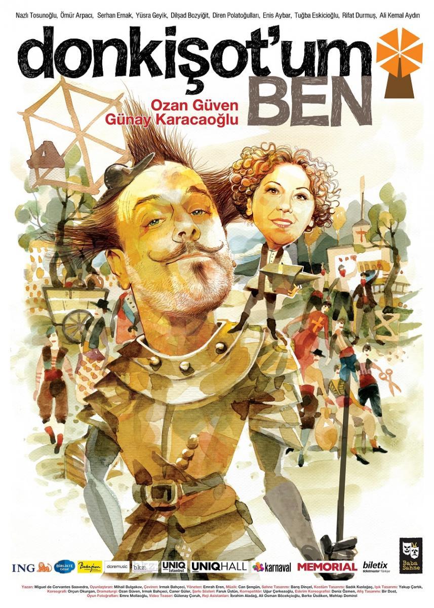 """""""Don Kişot'um Ben"""", 10 Ekim'de UNIQ Hall'de - Resim: 1"""