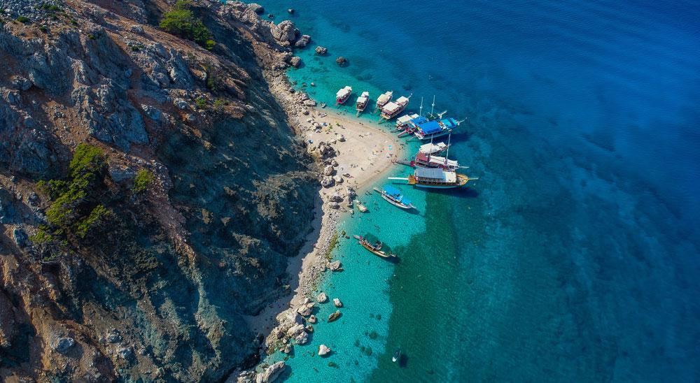 Antalya'nın Maldivleri Suluada'da tatil sezonu 1 ay uzadı - Resim: 1
