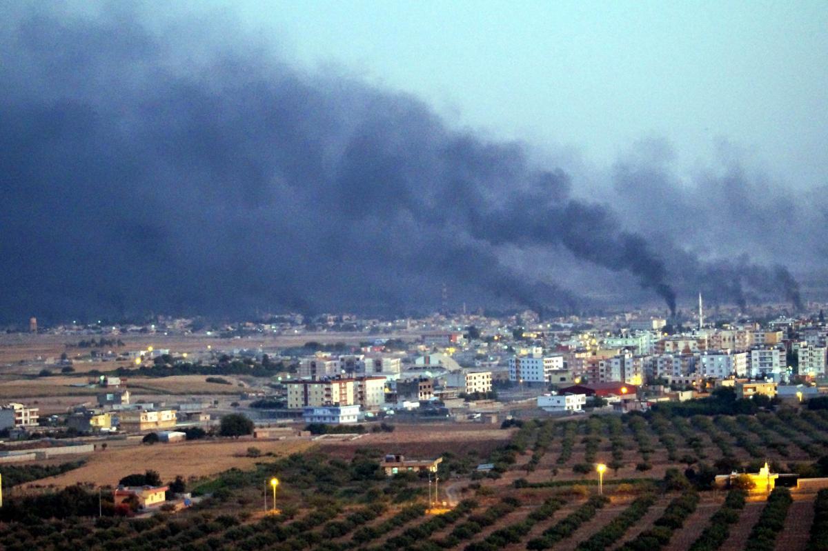 Barış Pınarı Harekatı'ndan görüntüler - Resim: 1