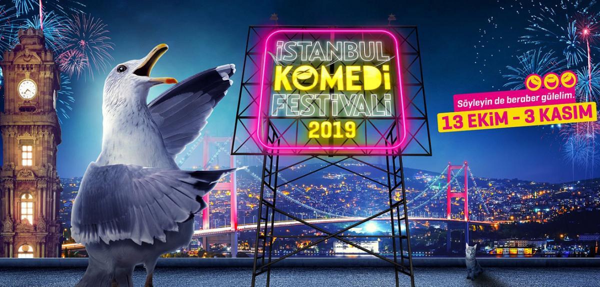 İstanbul Komedi Festivali, bu pazar başlıyor - Resim: 1