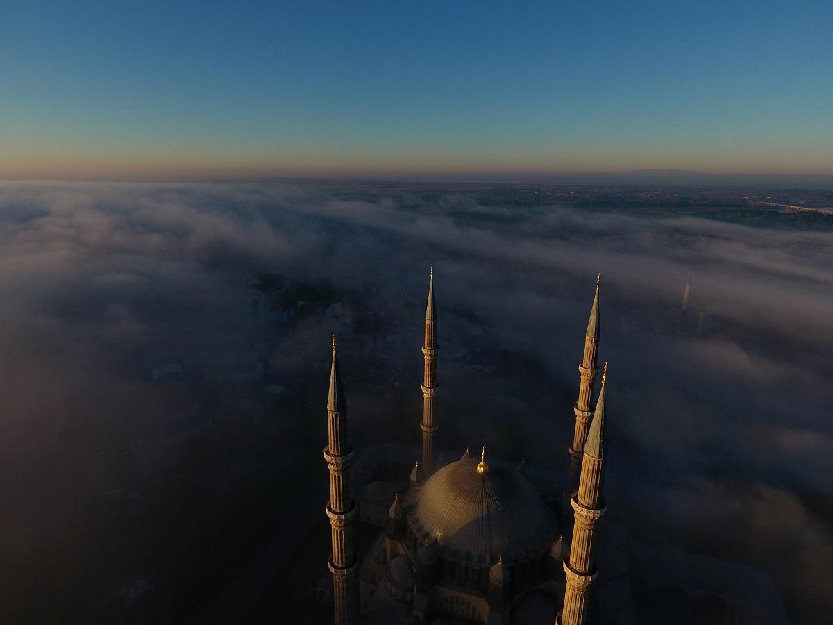 Sis altında bir şaheser: Selimiye Camii - Resim: 4