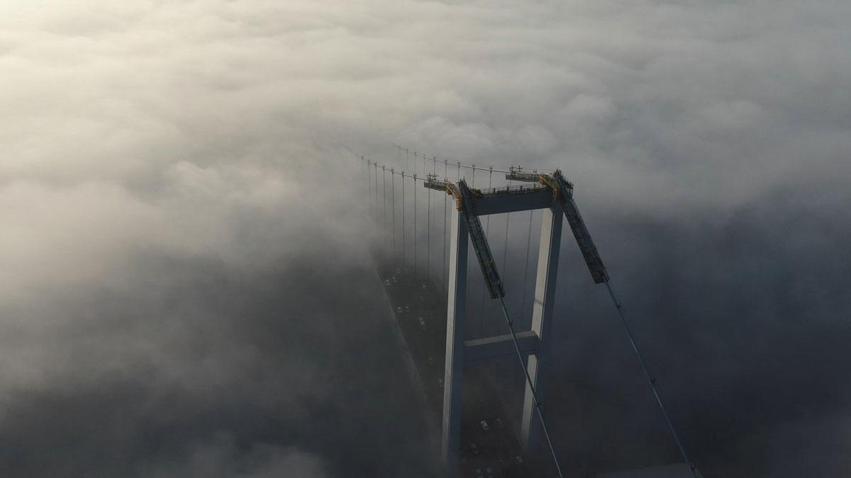 İstanbul Boğazı'nda sis manzarası görenleri mest etti - Resim: 3
