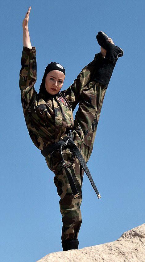 İran'ın kadın ninjaları savaş makineleri haline geldi - Resim: 1