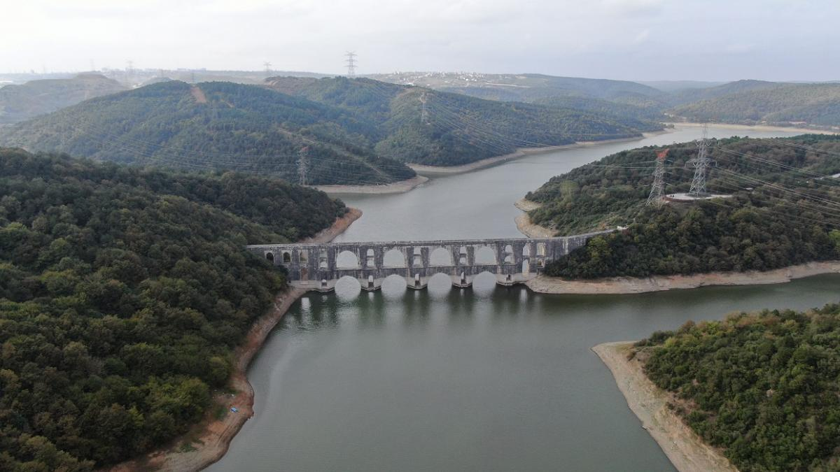 Tarihi Mağlova Su Kemeri'ni bir de havadan görün - Resim: 1