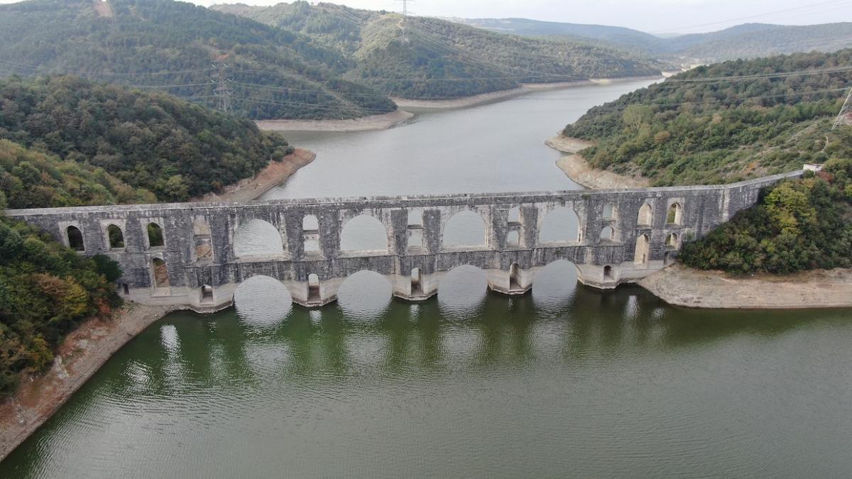 Tarihi Mağlova Su Kemeri'ni bir de havadan görün - Resim: 4