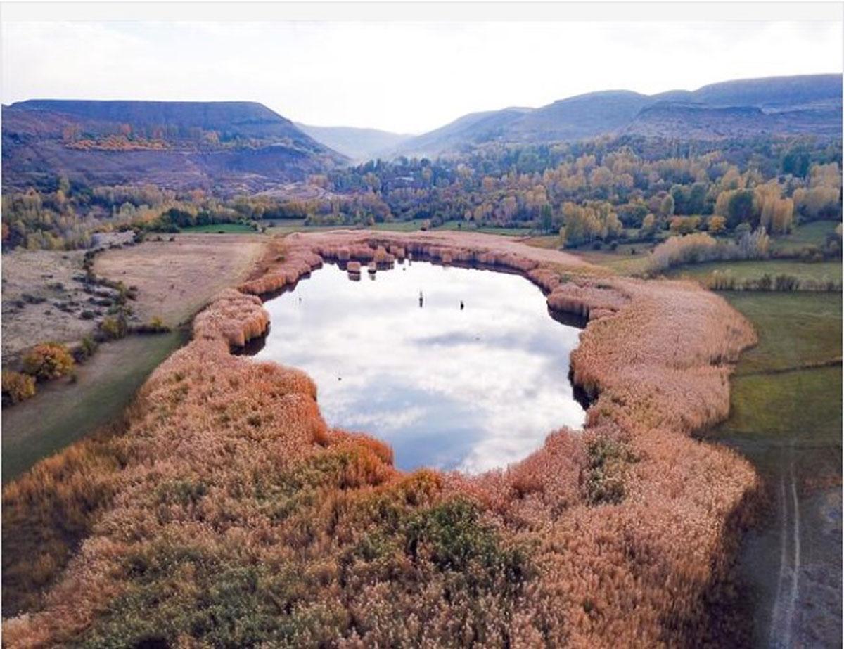 Köylüler harekete geçti! Iğdır'ın doğa harikası Üçkaya Gölü ziyarete açılacak - Resim: 2