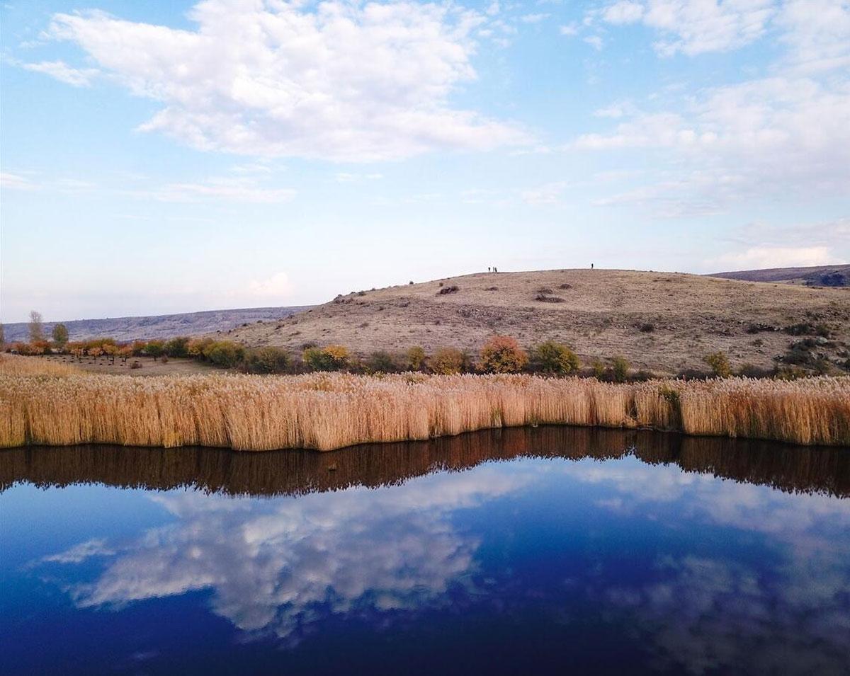 Köylüler harekete geçti! Iğdır'ın doğa harikası Üçkaya Gölü ziyarete açılacak - Resim: 4
