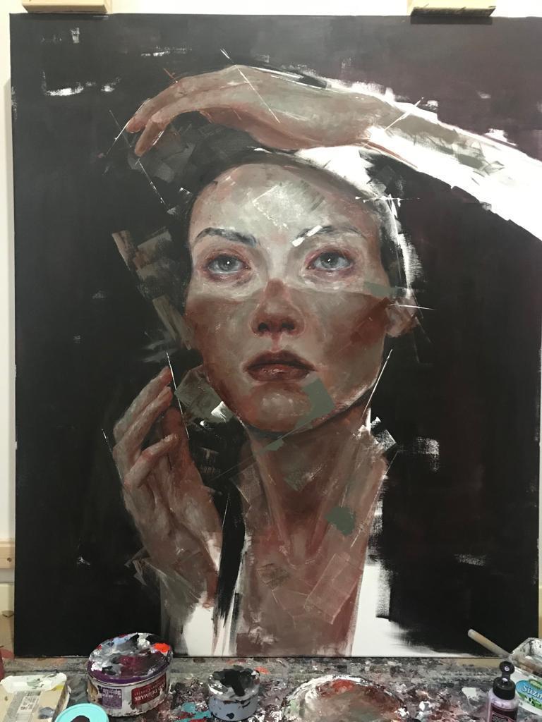 Ressam Sinem Demirci'nin ilk solo sergisi - Resim: 3
