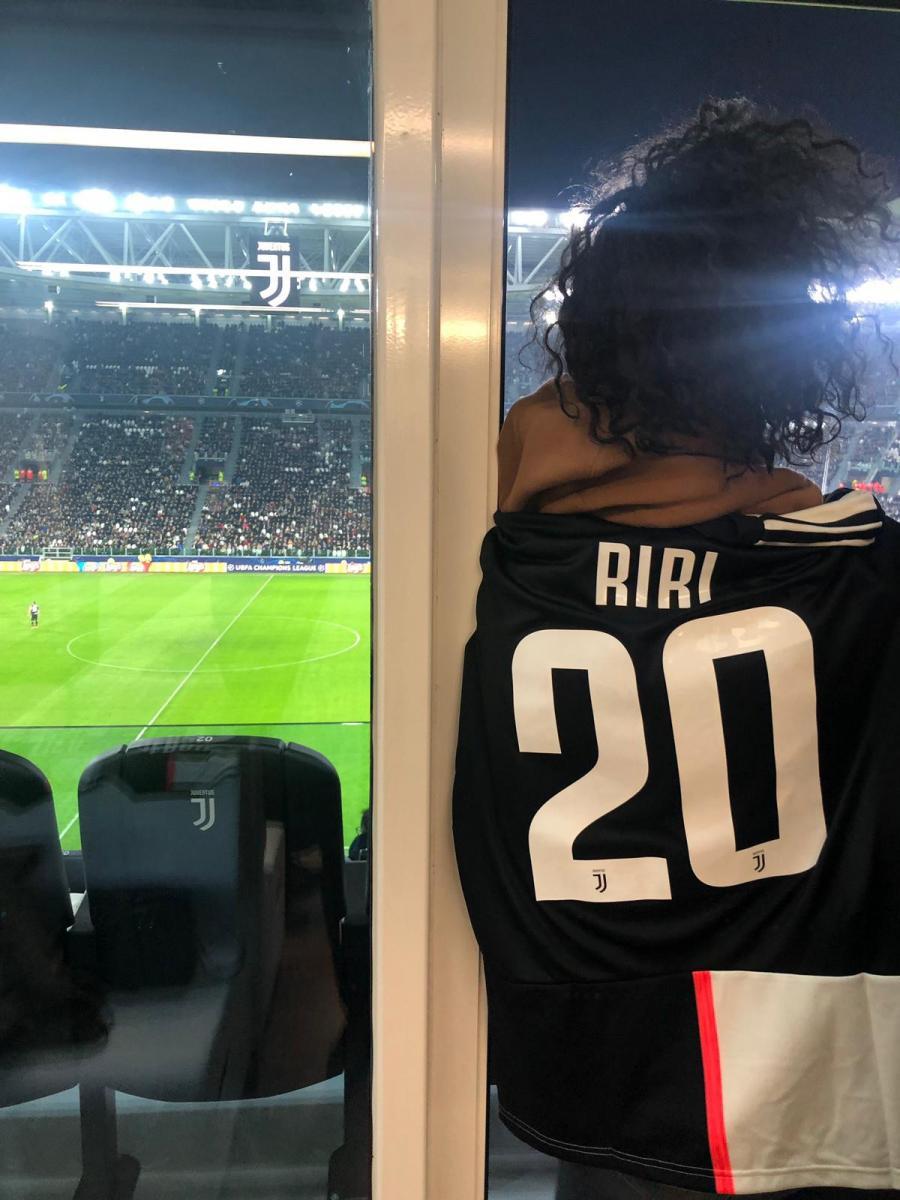 Juventus-Atletico Madrid maçında Rihanna sürprizi - Resim: 1