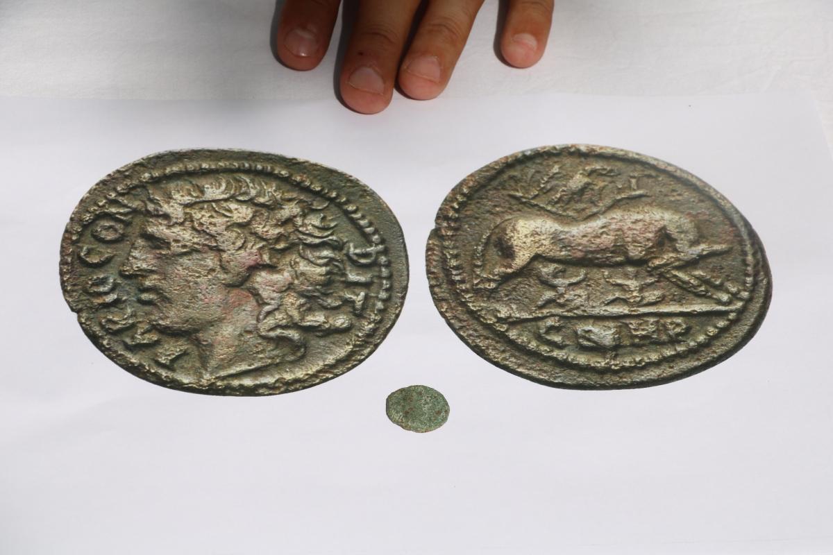 Çanakkale'de 1800 yıllık 'Paris' resimli sikke bulundu - Resim: 2