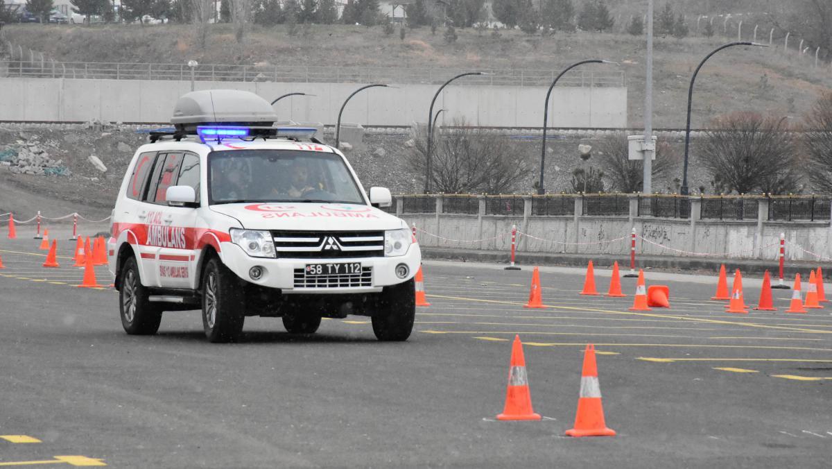 Ambulans şoförleri 'en iyi' olmak için yarıştı - Resim: 3