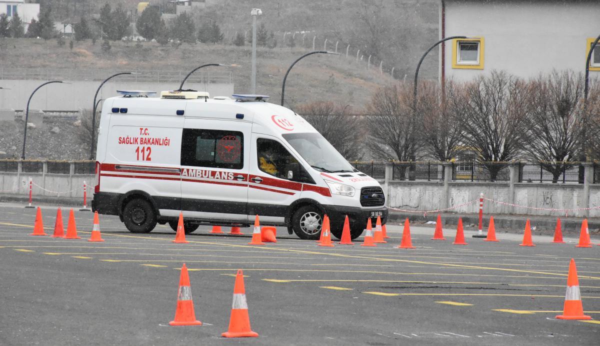 Ambulans şoförleri 'en iyi' olmak için yarıştı - Resim: 4