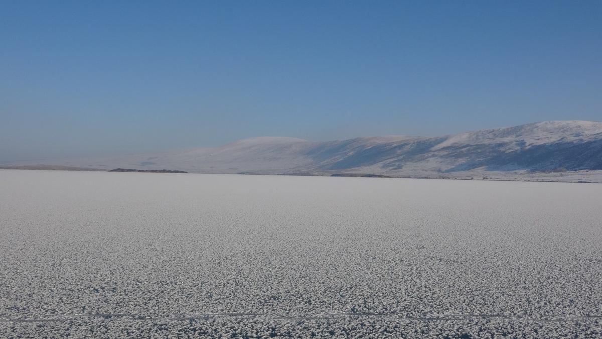 Ardahan'da Aktaş Gölü dondu - Resim: 3